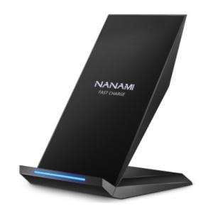 【レターパックプラス送料無料】NANAMI Qi 急速 ワイヤレス充電器|alnet-shop