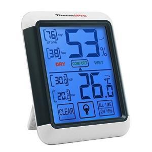 ThermoProデジタル湿度計TP55|alnet-shop