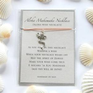 モアナルー Aloha Makemake Necklace アロハウィッシュネックレス マーメイド ベージュ aloalo