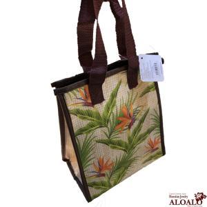 ハワイアン 保冷バッグ ランチバッグ クーラー お弁当 エコバッグ ハワイ雑貨 バードフラワー