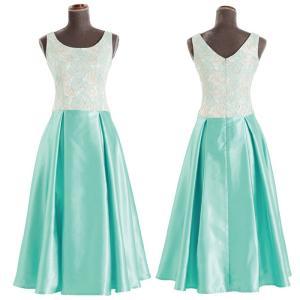 キャンペーン ジャガード ノースリーブ フラ ドレス 選べるカラー キャンペーンドレス フラダンス ...