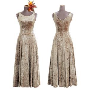 キャンペーン ベロア ノースリーブタイプ フラ ドレス 選べるカラー キャンペーンドレス フラダンス...