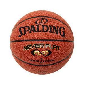 【スポルディング】SPALDING バスケットボール7号 ネバーフラット 74-445J【商品代引き不可】 aloha-fit
