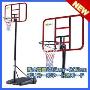 【エコーフィット】透明ポリカーボネート製バスケットゴール ミニバスから公式まで対応 EC-8100【送料無料】【商品代引き不可】 aloha-fit