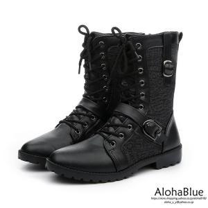 エンジニアブーツ メンズ 紳士靴 革靴 ミドル丈 エンジニア ブーツ 皮靴 カジュアルシューズ ブラック お洒落 2019 新生活|aloha0118