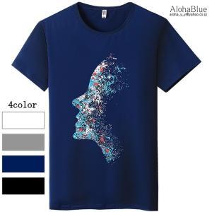 Tシャツ メンズ ロゴT アメカジ プリントTシャツ カレッジ 半袖Tシャツ トップス クルーネック...