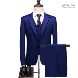 3ピーススーツ メンズ 2ツボタン スリーピース スリーピー ネイビー 細身 スーツ セットアップ ビジネススーツ おしゃれ 春夏 結婚式|aloha0118