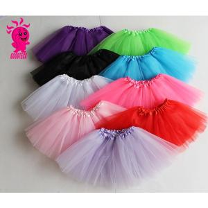 子供 キッズ ふわふわ チュチュスカート ベビー カラフル チュールスカート バレエ ダンス 衣装