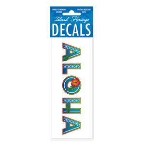 DECAL Hawaii ハワイ ステッカー 防水 車 スーツケース DECO ALOHA|alohahiyori