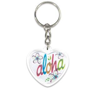 ハワイ キーホルダー キーチェーン ハワイアン 雑貨 アイランドヘリテージ Key Chain Holder aloha アロハ ハート|alohahiyori