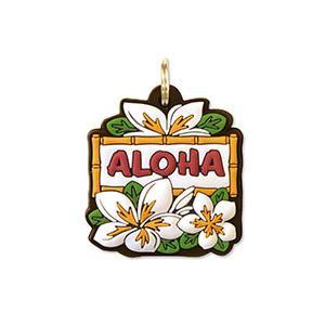 ハワイ キーカバー Hawaii Key Cover White Plumeria プルメリア|alohahiyori