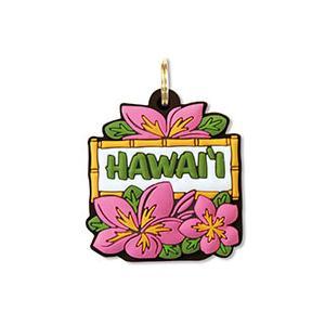 ハワイ キーカバー Hawaii Key Cover Pink Plumeria プルメリア|alohahiyori