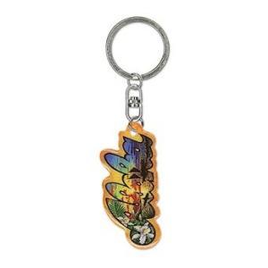 ハワイ キーホルダー キーチェーン ハワイアン 雑貨 アイランドヘリテージ Key Chain Holder Aloha アロハ Eddy Y|alohahiyori