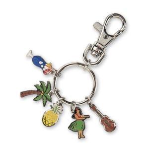 ハワイ キーホルダー キーチェーン ハワイアン 雑貨 アイランドヘリテージ Key Chain Charms ルアウ Luau|alohahiyori