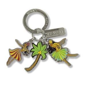 ハワイ キーホルダー キーチェーン ハワイアン 雑貨 アイランドヘリテージ Key Chain Charms フラ Hula|alohahiyori