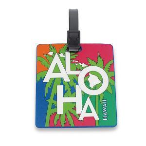 ハワイ スーツケースタグ ラゲッジタグ ネームタグ IDタグ ハワイアン 雑貨 アイランドヘリテージ Luggage & ID TAGS Tropical Aloha トロピカルアロハ alohahiyori