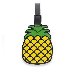 ハワイ スーツケースタグ ラゲッジタグ ネームタグ IDタグ ハワイアン 雑貨 アイランドヘリテージ Hawaii Island Luggage & ID TAGS Pineapple パイナップル alohahiyori