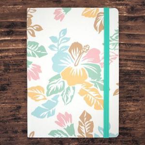 予約受付中 ハワイ手帳ファブリック2022 Rainbow Hibiscus|alohahiyori