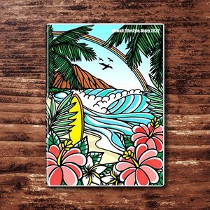 予約受付中 ハワイ手帳ミニ2022 TAMO|alohahiyori