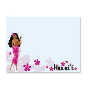 ハワイ ポストイット 付箋 貼れる メモ ハワイアン 雑貨 アイランドヘリテージ Hawaii Aloha Stick Notes Ukulele Serenade ウクレレ セレナーデ alohahiyori