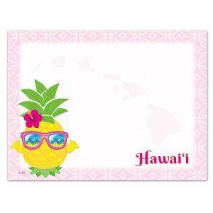 ハワイ ポストイット 付箋 貼れる メモ ハワイアン 雑貨 アイランドヘリテージ Hawaii Aloha Stick Notes Pineapple Shaka パイナップル シャカ alohahiyori