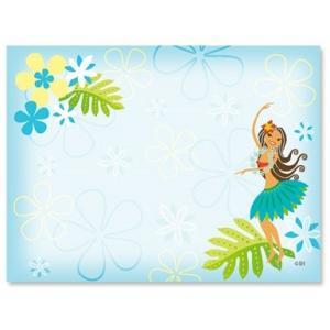 ハワイ ポストイット 付箋 貼れる メモ ハワイアン 雑貨 アイランドヘリテージ Hawaii Aloha Stick Notes Hula Sweetie フラ フラダンス alohahiyori