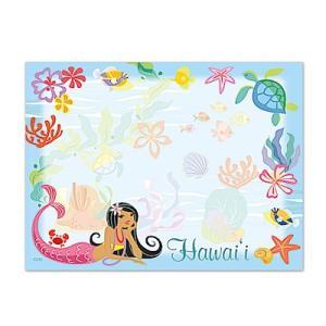 ハワイ ポストイット 付箋 貼れる メモ ハワイアン 雑貨 アイランドヘリテージ Hawaii Aloha Stick Notes Island Hula Mermaids マーメイド alohahiyori