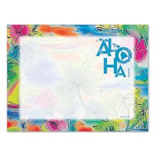 ハワイ ポストイット 付箋 貼れる メモ ハワイアン 雑貨 アイランドヘリテージ Hawaii Aloha Stick Notes Tropical Aloha トロピカルアロハ alohahiyori