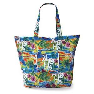 エコ フレンドリー トート デラックス バッグ  eco friendry tote bag deluxe Tropical Aloha alohahiyori