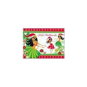 ハワイ クリスマスカード グリーティングカード メッセージカード ハワイアンカード Island Holiday Honeys alohahiyori