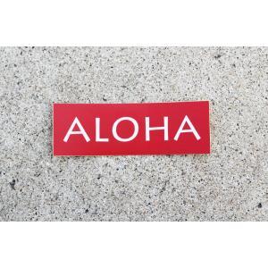 ステッカー DECAL ALOHA アロハ アロハ日和 オリジナル|alohahiyori