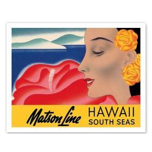 ハワイ ジークレー アート Hawaii And South Seas Matson Lines alohahiyori