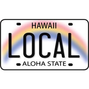 DECAL Hawaii ハワイ ステッカー Local License Plate|alohahiyori
