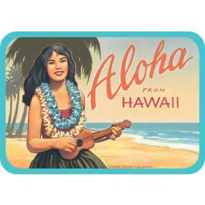 DECAL Hawaii ハワイ ステッカー 防水 車 スーツケース Aloha From Hawaii|alohahiyori