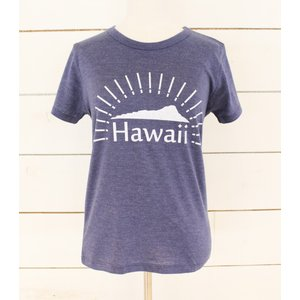 Hawaii DH ハワイ ダイヤモンドヘッド Tee ネイビー NAVY|alohahiyori