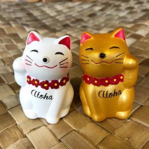ラッキーキャット 招き猫 ハワイ LUCKY CAT HAWAII|alohahiyori
