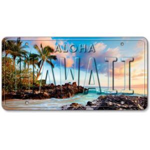 ハワイ ナンバープレート ライセンスプレート ハワイアン 雑貨 壁掛け ISLAND COVE アイランドコーブ|alohahiyori