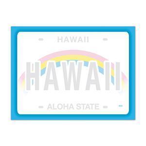 ハワイ ポストイット 付箋 貼れる メモ ハワイアン 雑貨 アイランドヘリテージ Hawaii Aloha Stick Notes license plate alohahiyori