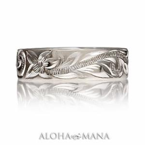 ハワイアンジュエリー リング指輪 ペアリングとしてもオススメ フラットヘビーリング SILVER925 ambri0001sv/ari01381sv/数量限定 バレンタイン プレゼント|alohamana