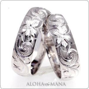 ハワイアンジュエリー 結婚指輪 マリッジリング ペアリングWeliana ONLY ONE ゴールドバレルノーエッジ ペア リング cdr022nepair 幅4mm 6mm 8mm alohamana