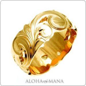 ハワイアンジュエリー 結婚指輪 マリッジリング Weliana ONLY ONE 透かしカットアウト...