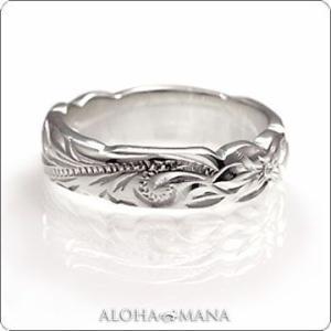 ハワイアンジュエリー指輪 ペアリングとしてもオススメ心地よい厚みヘビーウェイト ピンキーリングヘビーリング cvari7104p/数量限定 バレンタイン プレゼント|alohamana