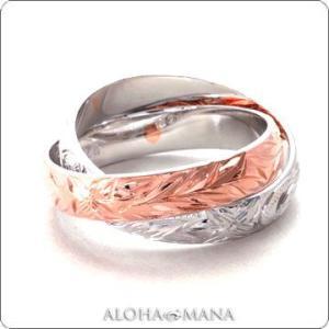 ハワイアンジュエリー リング指輪 2in1サークル 2連リング シルバー925 レディース 女性 frisr1357sv/数量限定 バレンタイン プレゼント|alohamana
