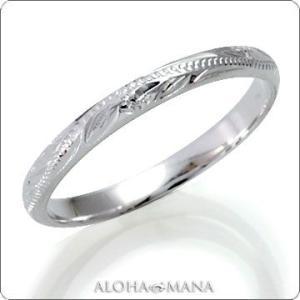 ハワイアンジュエリー リング指輪 ペアリングとしてもオススメシルキーラインスクロール リングSILVER925 frisr1441sv/数量限定 バレンタイン プレゼント|alohamana