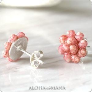 一点物 ハワイアンジュエリー ピアス (Hanalei)シェルジュエリー カへレラニシェルのピアス hpe1065 クリスマス プレゼント|alohamana