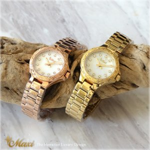 ハワイアンジュエリー 腕時計 メンズ レディース [Maxi マキシ]シェルフェイスウォッチ mwz1288/新作 クリスマス プレゼント 男性|alohamana