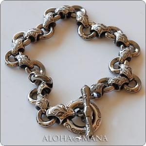 ハワイアンジュエリー バングル Maxi マキシ ダイヤモンドビームブレスレット SILVER925 mxbg0046bp クリスマス プレゼント alohamana