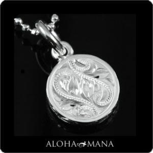 【チェーン付きセット】 幸せを乗せて運ぶ波の象徴スクロールと神聖な結びつきを意味するマイレ。カラーは...