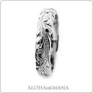 ハワイアンジュエリー リング Maxi マキシ オールドイングリッシュ カットアウトリング K14ホワイトゴールド mxri0133wg|alohamana