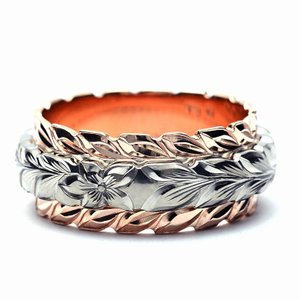 (Weliana)ONLYONE マリッジリング 結婚指輪 ハワイアンジュエリー リング レディース...